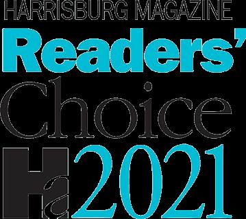 Harrisburg Magazine Readers' Choice - 2021 Winner